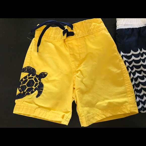 c543e883a3 Janie and Jack, Baby Gap and H&M Swim | Baby Boys Trunks 3 Count ...